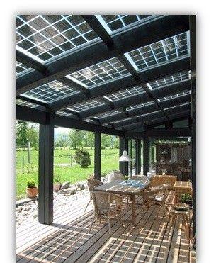 Premium Terrassenuberdachung Mit Solarglas Erzeugen Sie Ihren Eigenen Strom Fur Ihr Haus Ihr Solarter Carport Uberdachung Terrassenuberdachung Terrassendach