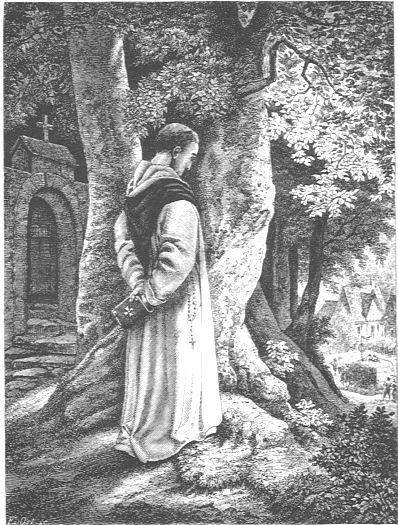 Mönche und Nonnen -  Der Mönch. -- 1868