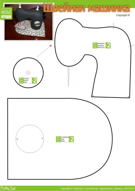 Simple Sewing Machine Softie ;)