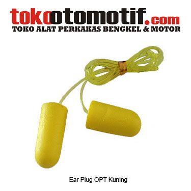 Ear Plug OPT Kuning - alat safety : sumbat telinga  Kode : 060586 Nama : Ear plug Merk : OPT Tipe : Kuning Berat Kirim : 1 kg  #earplug #earmuff #earplug #earmuff #penutuptelinga #pelindungtelinga #sumbattelinga #jualearplug #jualearmuff
