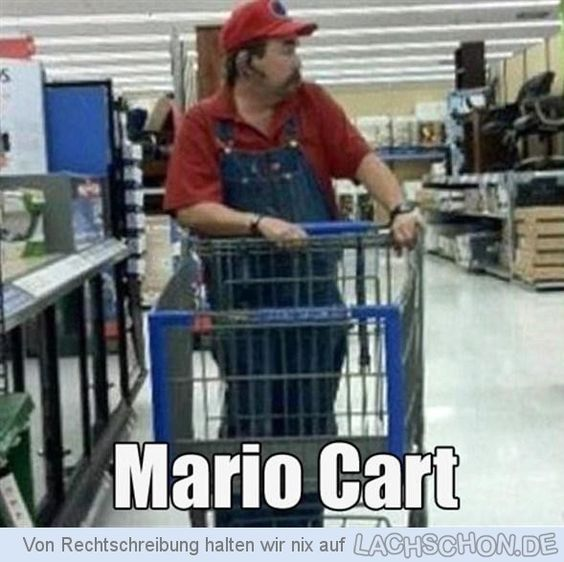 Mario Cart (for real).
