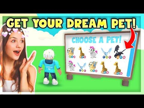 This Tik Tok Hack Gives You Your Dream Pet In Adopt Me Roblox Youtube Roblox Funny Roblox Super Funny Videos
