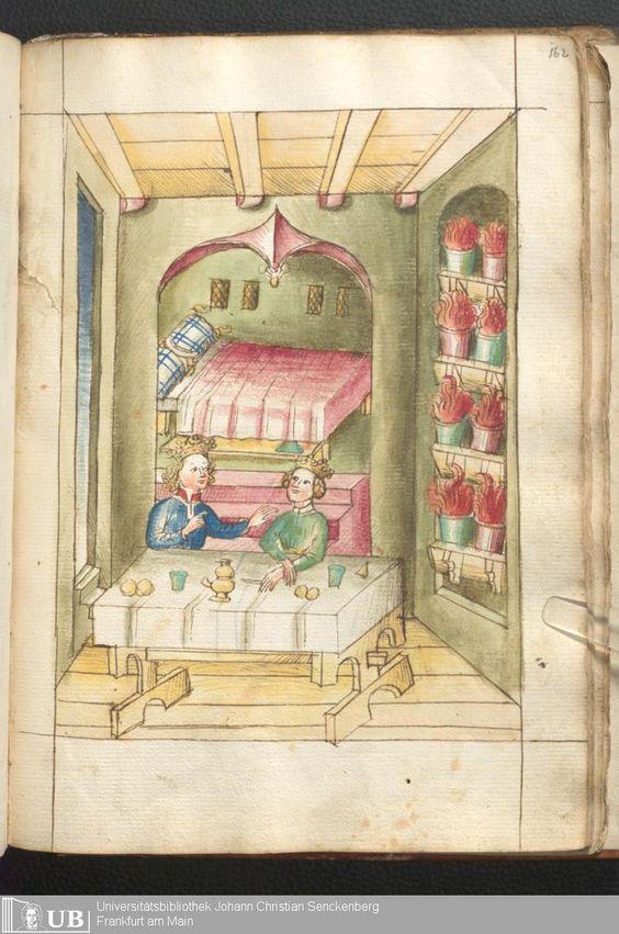 Bellifortis Frankfurter Universitätsbibliothek Ms. germ. qu. 15 , Vorbesitzer, Graf Philipp von Hanau, Familie Holzhausen