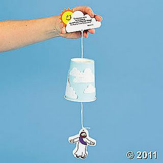 Ascension of Jesus Crafts for Kids