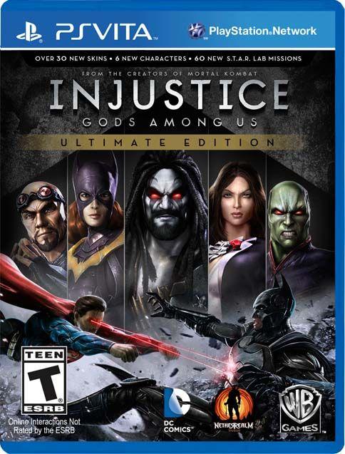 Injustice Gods Among Us Ultimate Edition Psvita Vpk Download Madloader Com Injustice Tool Hacks Super Games