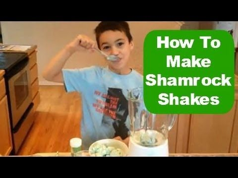 "Easiest Shamrock Shake ever...""It's too good!"""