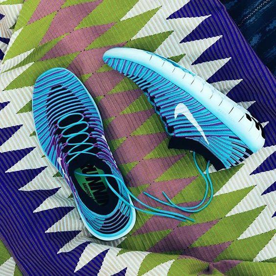 Nike Free Rn Motion Flyknit On Foot