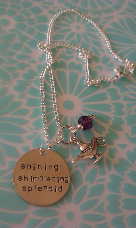 Shining, shimering, splendid. Tell me princess when did you last let your heart decide? Aladdin jewelry. Yes, please and I'll take the magic carpet ride.