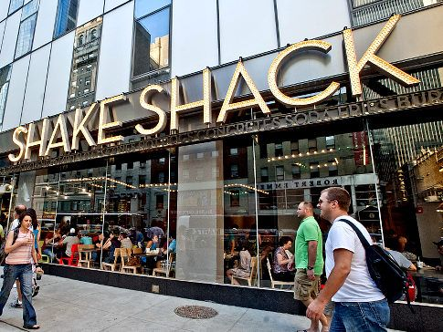 nothing beats Shake Shack when it comes to fresh burgers