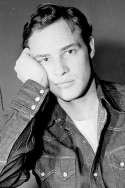 Marlon Brando photographed by Margaret Bourke-White, 1952