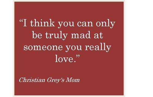 """It makes me laugh that they quote """"Christian Grey's Mom"""" at the bottom."""