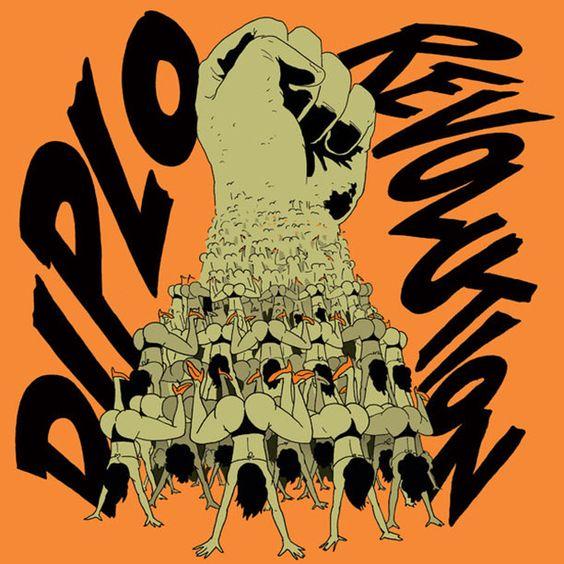 Diplo – Revolution (single cover art)