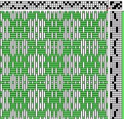 Overshot Weaving Drafts - All Fiber arts