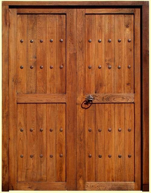 puerta rustica guadamur doble