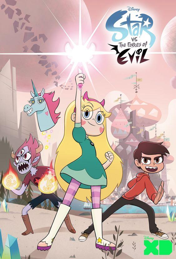Star Borboleta é uma princesa mágica de outra dimensão que é enviada à Terra por seus pais como