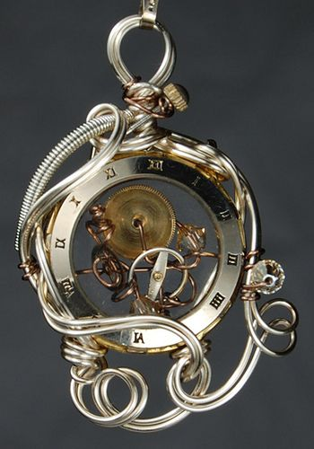 Beautiful steampunk with dominant silver tones. It doesn't have to be all brown and brass!