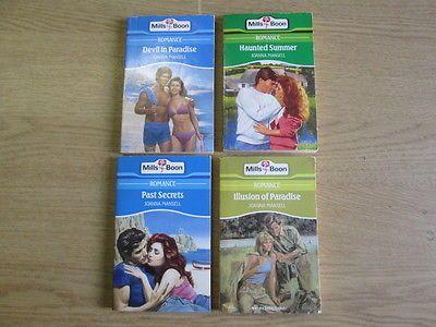 4 x Joanna Mansell Mills & Boon Romance Novels: TITLES: 1. Past Secrets; 2. Devi