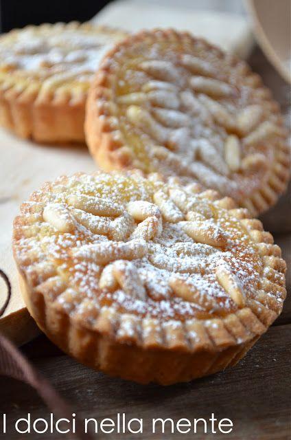 Tartaletas con galletas de mantequilla y limón
