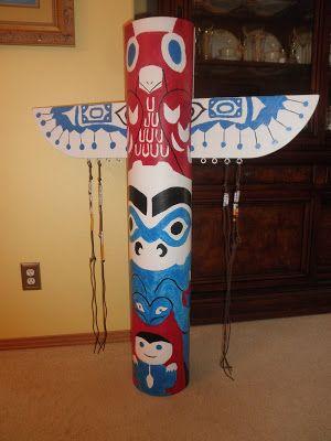 Erin's Cub Scout Blog: Totem Pole Den Doodle