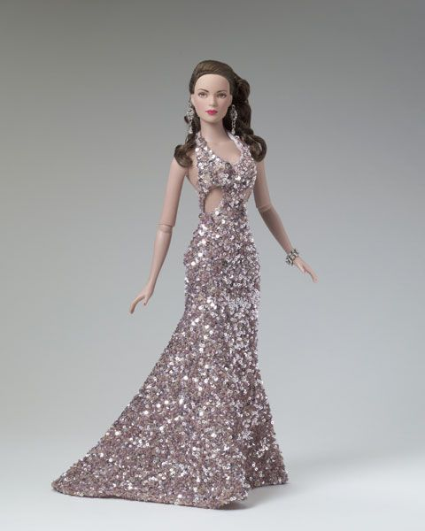 Mauve Magnificence (2004) DRESSED DOLL AR Style One of a Kind IDEX Convention; Auctioned for Children Affected by AIDS Foundation; Orlando, Florida January 23-25