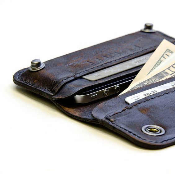 iPhone leather wallet sleeve $134.00