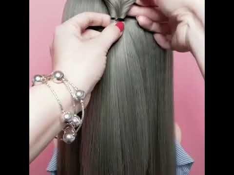 تسريحات شعر جديده 2019 تسريحات الشعر الطويل و القصير Tasrihat Cha3r Jamila Diy Youtube Ear Cuff Earrings Ear
