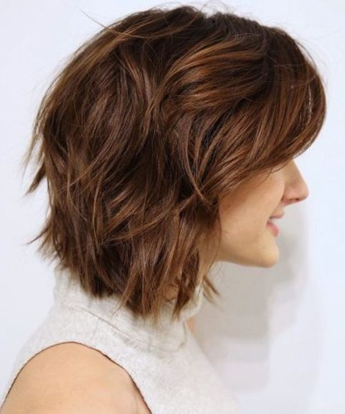 Best Short Shaggy Haircuts 2018 For Teenage Girls Styles Beat Thick Hair Styles Short Wavy Hair Girl Haircuts