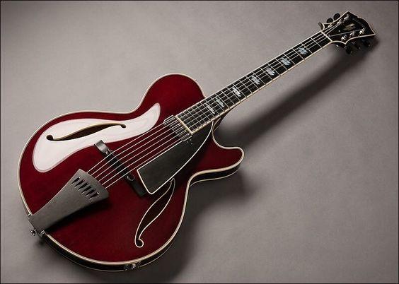 Une guitare Archtop. Retrouvez des cours de guitare d'un nouveau genre sur MyMusicTeacher.fr