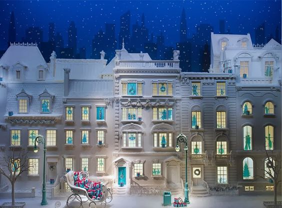 Tiffany & Co Holiday window 2013