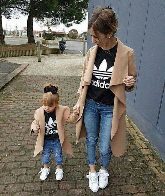 Escabullirse Falange Contrapartida  mother and daughter matching adidas outfits buy clothes shoes online