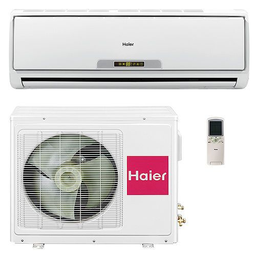 Haier 9 000 Btu 17 Seer Ductless Mini Split Heat Pump Air Conditioner Ac 3 4 Ton Heat Pump Air Conditioner Ductless Mini Split Heat Pump