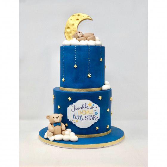 Twinkle Twinkle Little Star Baby Shower Cake Boybabyshowers Boy