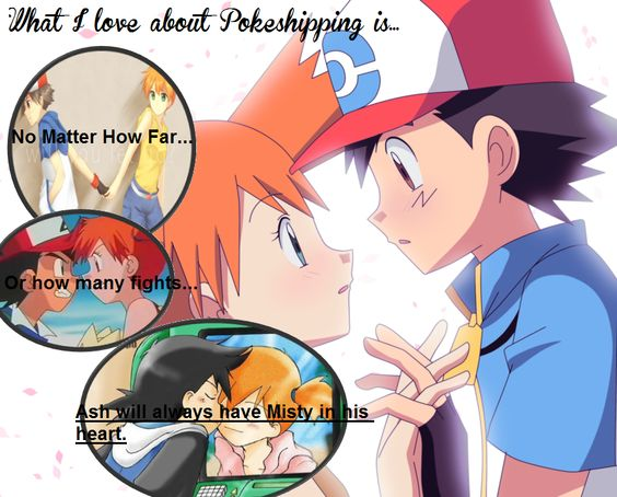 Pokeshipping is forever