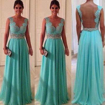 Tiffany blue bridesmaid dress for my wedding in a million years ...