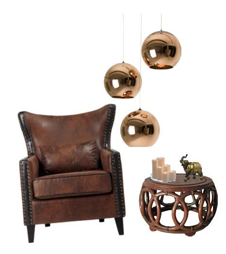 Use Polyvore.com to create moodboards for your home