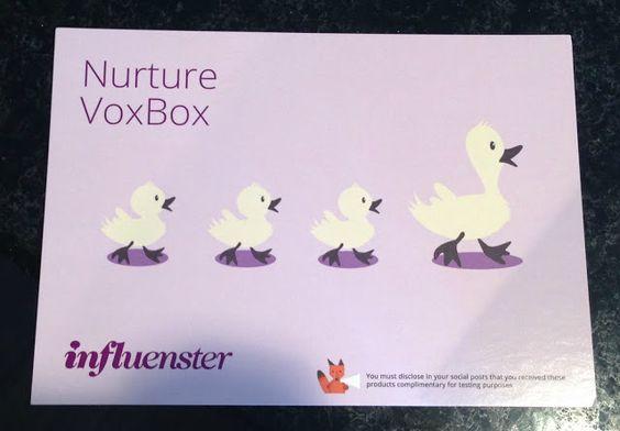 X-tremely V: Influenster | #NutureVoxBox , nuture, #voxbox, summer fun