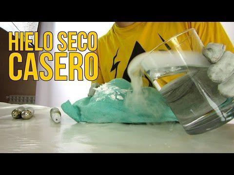 Cómo Hacer Hielo Seco Casero Experimentos Caseros Youtube Hielo Seco Hielo Seco Casero Hielo