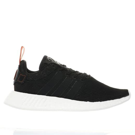 mens black amp; white adidas nmd_r2 trainers | schuh