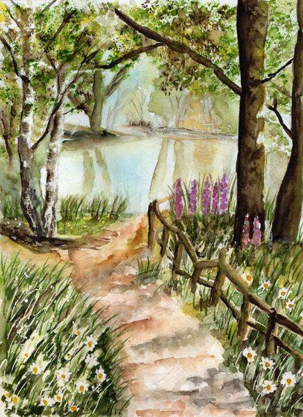 Arts web group galerie sous bois aquarelles et peintures diverses pinterest photos - Se connecter a pinterest ...