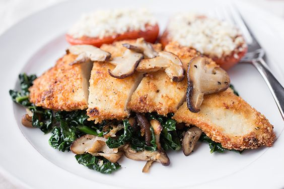 ... Garlic Kale and Shiitake Mushrooms | Recipe | Kale, Chicken Breasts