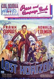 Lost Horizon Poster ..one of my favorite movies!