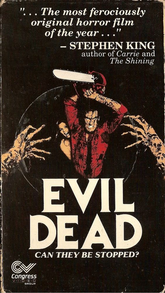 Evil Dead VHS - If you love movies and movie posters follow the podcast https://www.facebook.com/ScreenWolf and https://twitter.com/screen_wolf