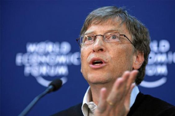 Smeerkees Bill Gates: in 2021 staat de wereld goed nieuws te wachten