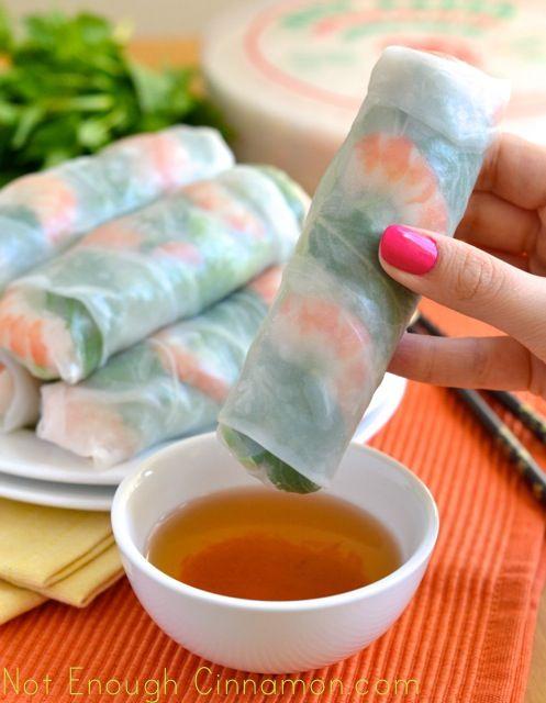 Cómo hacer rollos de primavera vietnamitas frescos ...