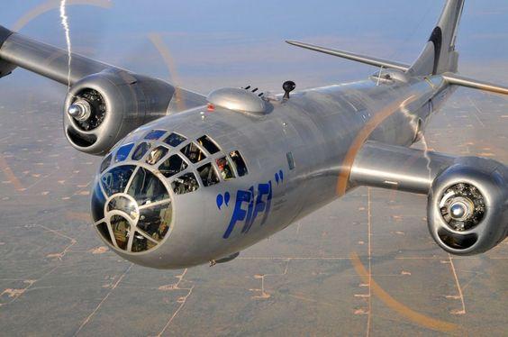 O Fifi é atualmente o único B-29 em condições de voo (Commemorative Air Force )