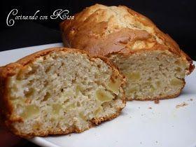 Cocinando con Kisa: Bizcocho de buttermilk con manzanas ( horno tradicional)