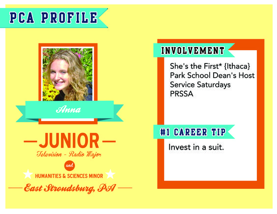 After college PCA Anna hopes to work in the communication industry - pca job description