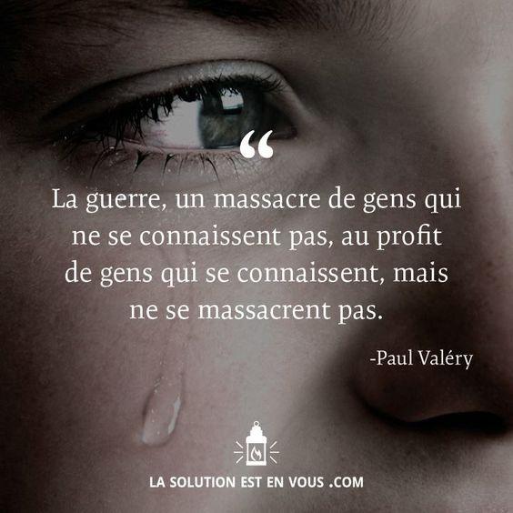 """""""La guerre! c'est une chose trop grave pour la confier à des militaires."""" - Clémenceau  via http://ijournal.online.fr/Quote.php"""
