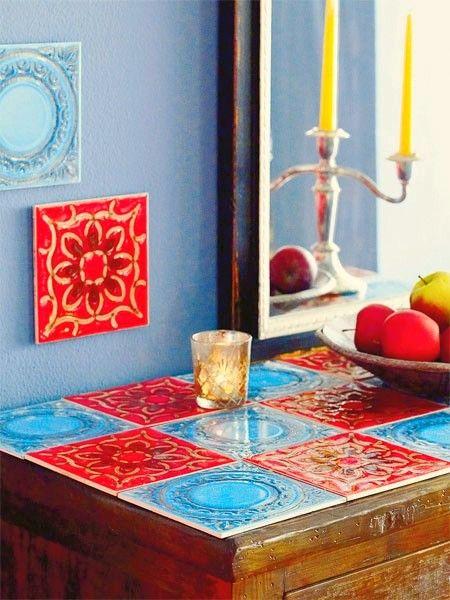 Versatilidade dos azulejos na decoração