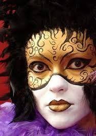 Bildergebnis für venezianische maske schminken